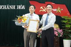 Ủy viên UB Kiểm tra TƯ làm Phó bí thư Tỉnh ủy Khánh Hòa