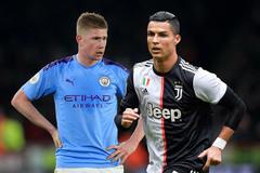 "Juventus nổ ""bom tấn"" De Bruyne phục vụ Ronaldo"