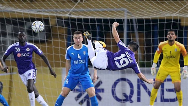 Quang Hai's goal one of 2019's best five left-foot finishes