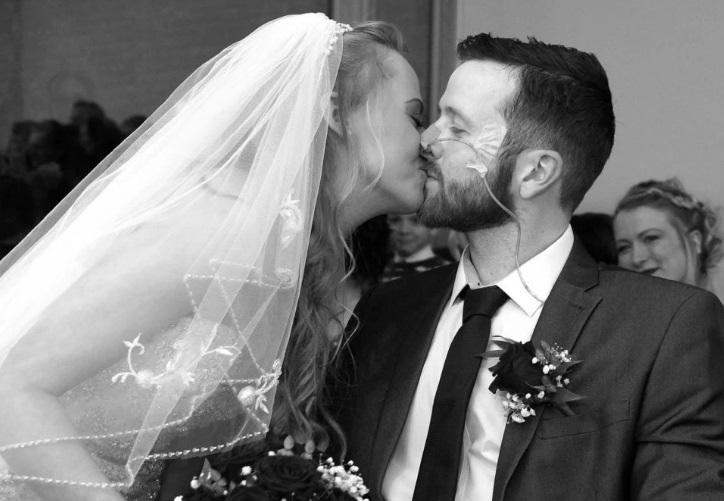 Rebecca Hoedemaker trở thành goá phụ chỉ 3 ngày sau khi cưới.