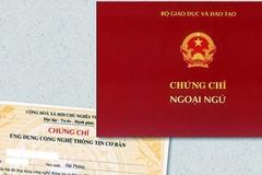 Danh sách đơn vị được tổ chức thi, cấp chứng chỉ ngoại ngữ, tin học