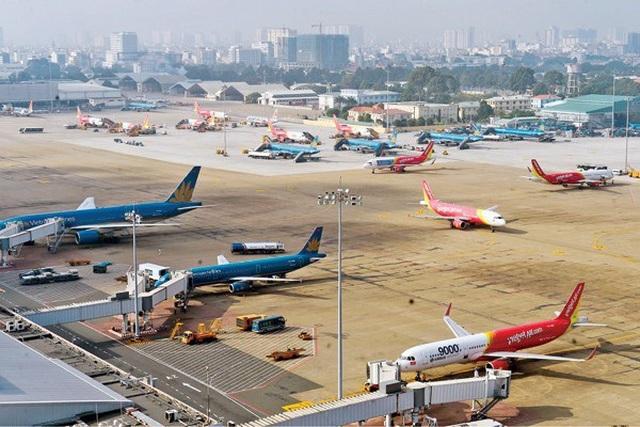 Tan Son Nhat airport,runway,transport