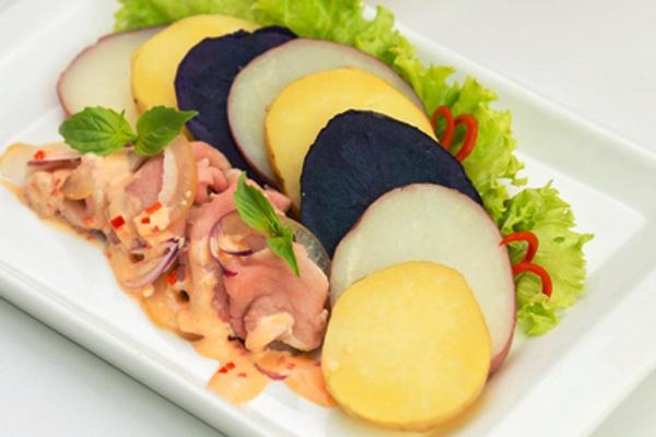 Món ăn lạ, ngon, bổ dưỡng từ khoai tây Mỹ