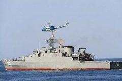 Rộ tin tàu khu trục Iran bắn chìm tàu hỗ trợ trong lúc tập trận