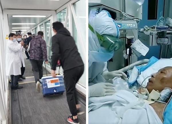 Bệnh nhân Covid-19 thoát chết nhờ ghép phổi ở Trung Quốc