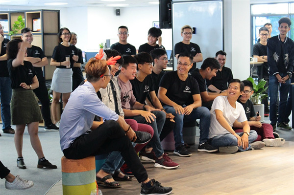 Young Vietnamese man's game-app startup ranked in top 15 in the US