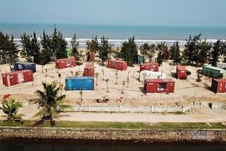Dựng 130 container trái phép trong rừng phòng hộ làm chỗ nghỉ cho khách du lịch