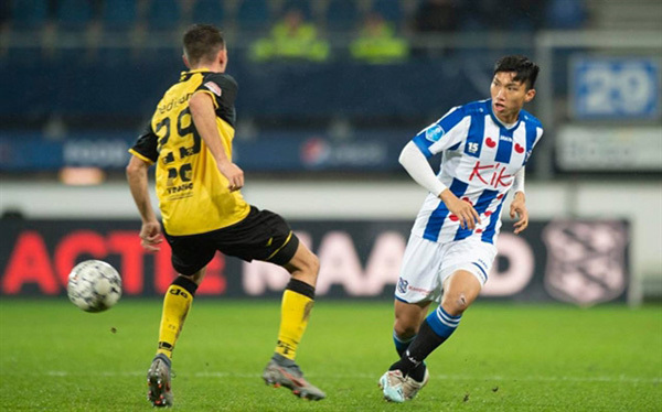 Defender Hau's Heerenveen contract to be discussed