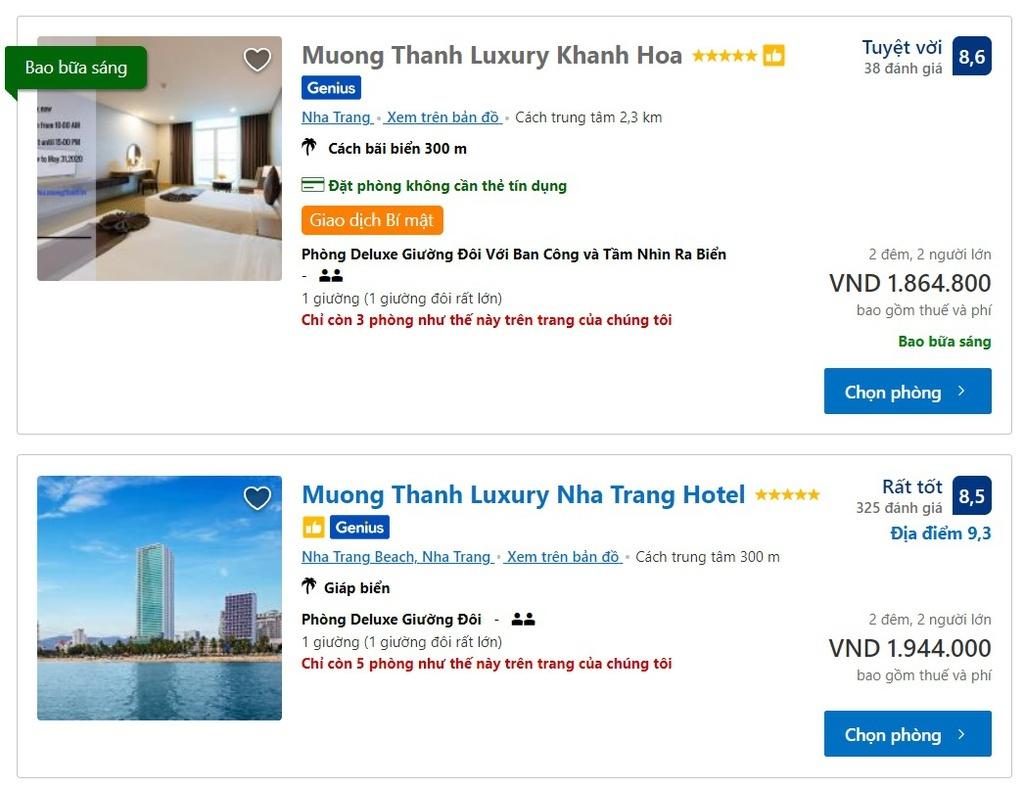 Hàng loạt khách sạn 5 sao Việt giảm giá còn hơn 1 triệu đồng/đêm