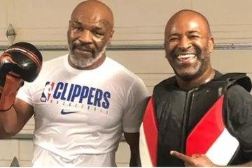 Mike Tyson đầy dũng mãnh và thiện chiến ở tuổi 53