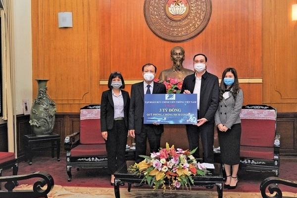 VNPT chung tay cùng cả nước chống dịch Covid-19