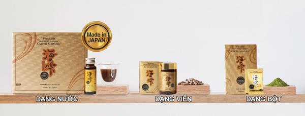 Lợi ích tuyệt vời của Fucoidan Umi No Shizuku