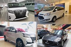 10 xe ế khách nhất: Toyota Alpha, Honda Jazz lèo tèo 2-3 chiếc