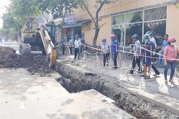 Công nhân bị đất vùi chết khi lắp cống ở Bà Rịa- Vũng Tàu