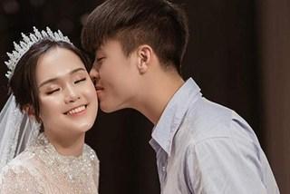 Đỗ Duy Mạnh bị đồn đánh vợ, Quỳnh Anh dập lửa bênh chồng: 'Công chúa béo' hóa ra NÓI DỐI?