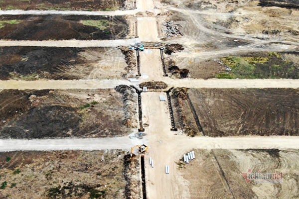 """Dự án """"ma"""" Hồ Tràm Riverside phân lô bán nền trái phép đang bị kiểm tra"""