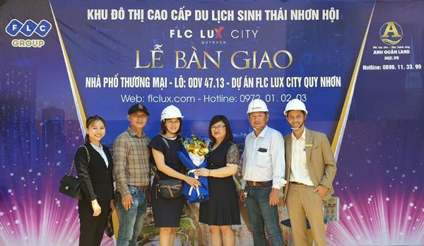 FLC Lux City Quy Nhon bàn giao những căn shophouse đầu tiên