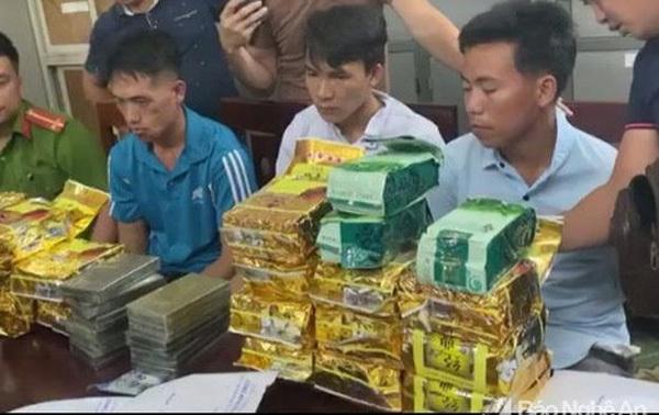 Police bust two major drug trafficking cases, seizing over 70kg of narcotics