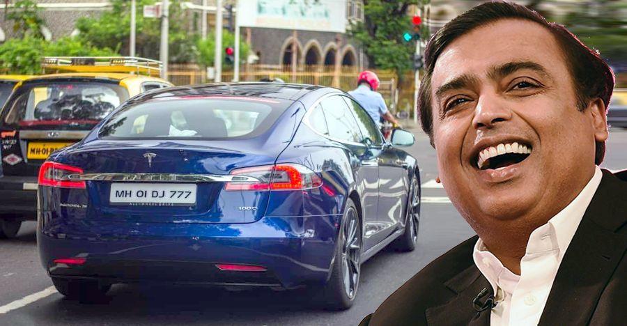 Tỷ phú giàu nhất Ấn Độ phải 'lách luật' để tậu Tesla