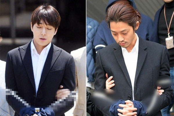 Jung Joon Young, Choi Jong Hoon được giảm án tù sau khi kháng cáo
