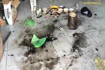 Bắt khẩn cấp 7 thanh niên ném bom xăng vào phòng trọ ở Đồng Nai