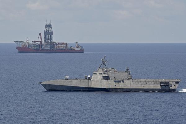 Tàu tác chiến Mỹ triển khai hoạt động ở Nam Biển Đông
