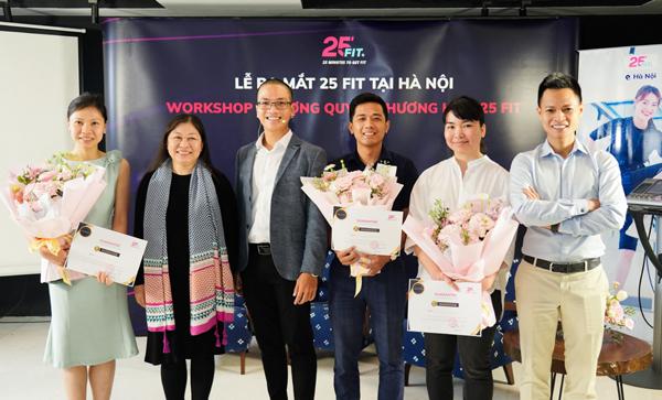 25 FIT - mô hình tập gym áp dụng công nghệ EMS đã có mặt ở Hà Nội