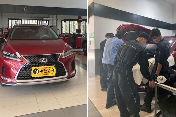 Khách Sài Gòn bức xúc mua Lexus RX 350L gần 5 tỷ bị báo lỗi