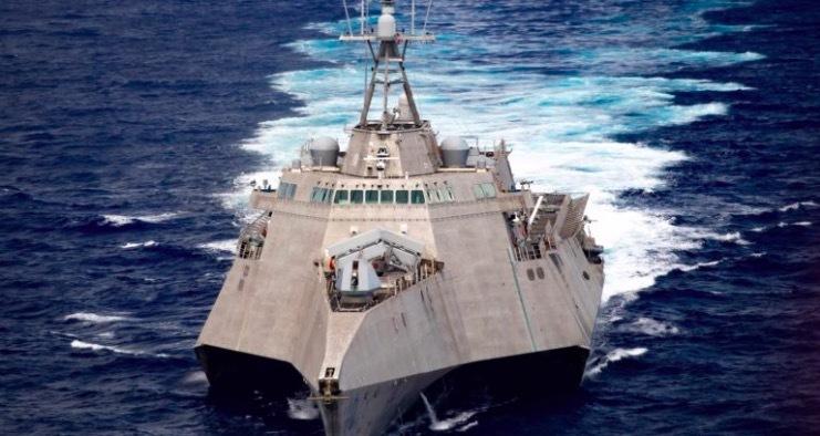 Điểm đặc biệt của tàu tác chiến Mỹ đang ở nam Biển Đông