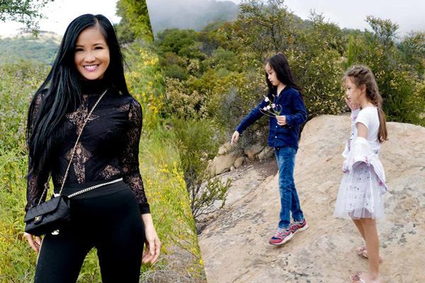 Hồng Nhung tận hưởng cuộc sống an yên bên hai con