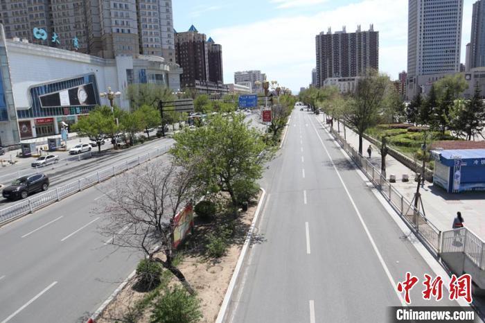 Hình ảnh Trung Quốc phong tỏa thành phố Cát Lâm chặn Covid-19