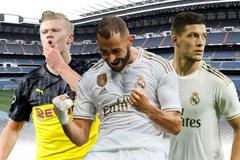 Haaland 'chấp' cả hàng công Real Madrid, Zidane ôm đầu