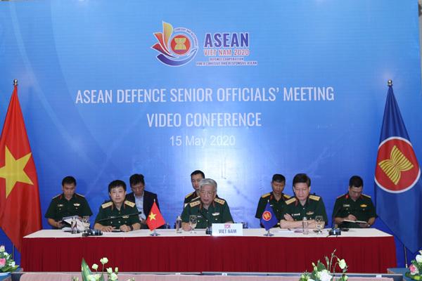 Quan chức quốc phòng ASEAN bàn về đại dịch và an ninh khu vực