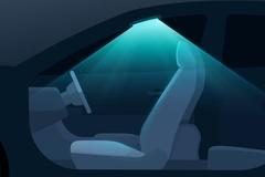 Hyundai gắn đèn tia cực tím khử trùng khoang lái ôtô