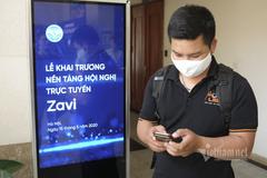 """Đã có nền tảng họp trực tuyến """"Make in Việt Nam"""""""