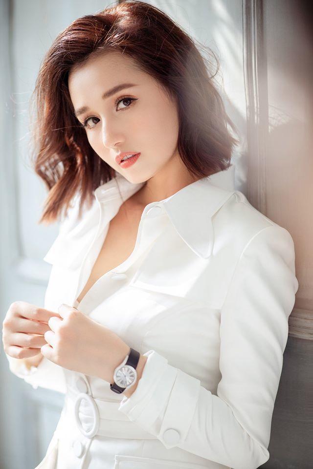 4 mỹ nhân 'Tình yêu và tham vọng' quyến rũ với váy trắng