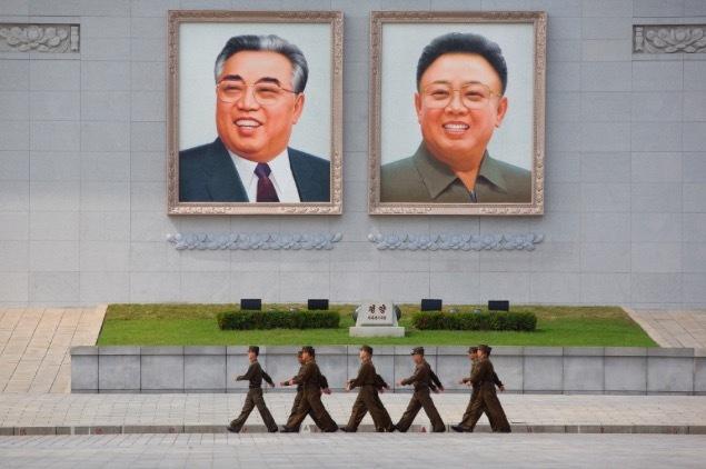 Triều Tiên tạm gỡ ảnh hai cựu lãnh đạo khỏi quảng trường lớn