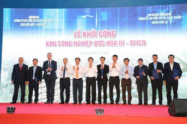 Khởi công dự án Khu công nghiệp Đức Hòa III - SLICO
