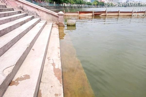 Một năm sau thí điểm công nghệ Nhật Bản, hồ Tây giờ ra sao?