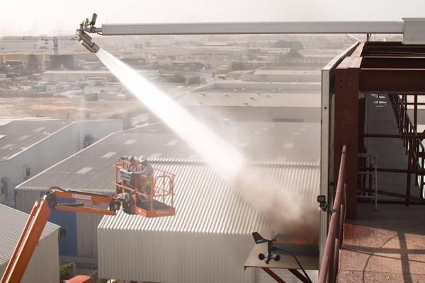 Summit Building ứng dụng công nghệ SpraySafe chữa cháy nhà cao tầng