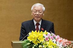 Thiên tai cực đoan, Tổng bí thư, Chủ tịch nước gửi thư động viên nhân dân