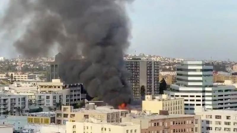 Cháy nổ ở Los Angeles, nhiều lính cứu hỏa bị thương