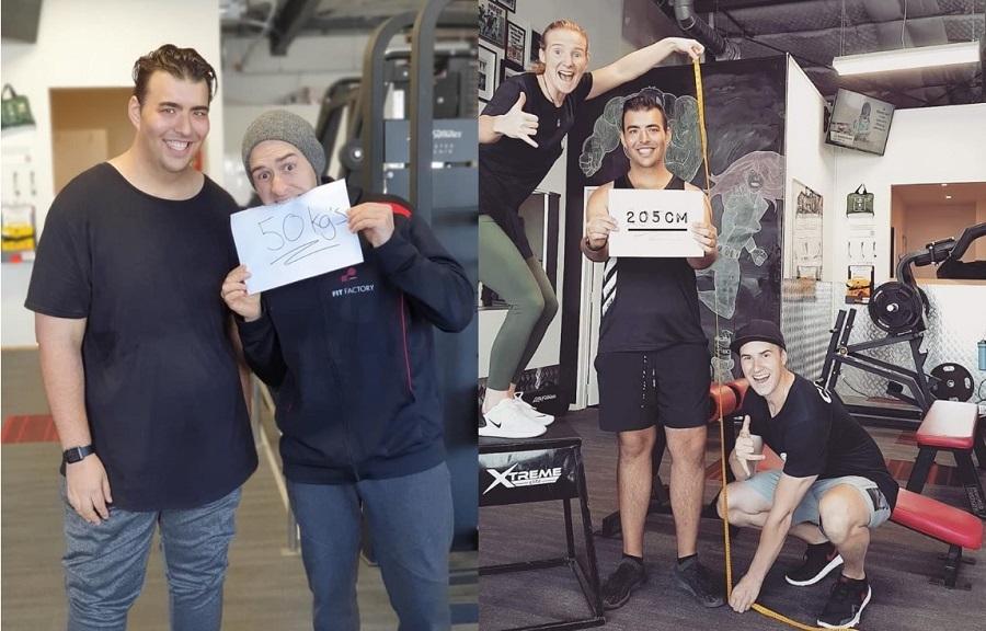 Chàng trai 190kg quyết tâm giảm cân, lột xác thành 'nam thần' phòng gym