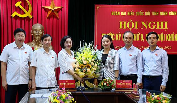 Bà Nguyễn Thị Thu Hà làm Trưởng đoàn ĐBQH tỉnh Ninh Bình