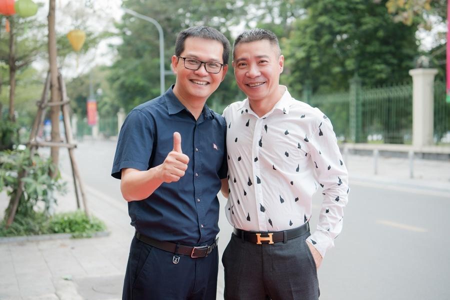 Thu Hà 'lá ngọc cành vàng' trẻ đẹp bên Công Lý, Quang Thắng