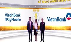 2 sản phẩm của VietinBank liên tiếp đạt danh hiệu Sao Khuê