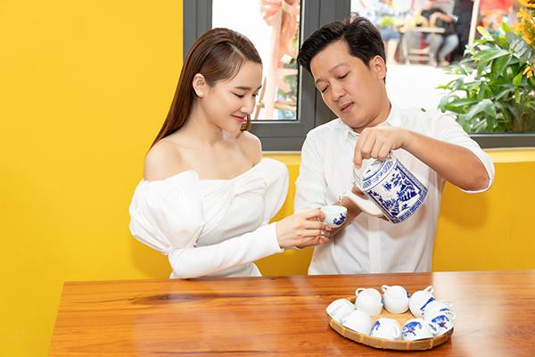 Nhã Phương: Trường Giang chăm nấu ăn nên làm 'hư' tôi