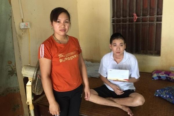 Anh Trịnh Văn Trọng bị tai nạn giao thông sức khỏe đã dần ổn định