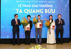 Three scientists honoured with Ta Quang Buu Awards