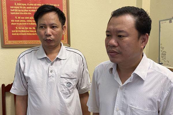 Lấy gần 700 triệu tiền bán đất, 2 quan xã ở Thanh Hóa bị bắt